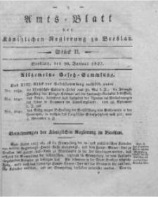 Amts-Blatt der Königlichen Regierung zu Breslau, 1827, Bd. 18, St. 2