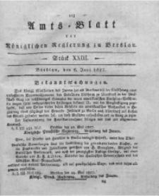 Amts-Blatt der Königlichen Regierung zu Breslau, 1827, Bd. 18, St. 23