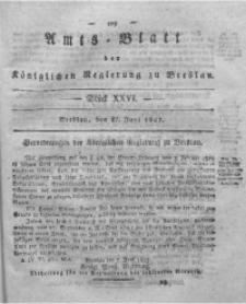 Amts-Blatt der Königlichen Regierung zu Breslau, 1827, Bd. 18, St. 26