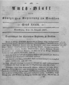 Amts-Blatt der Königlichen Regierung zu Breslau, 1827, Bd. 18, St. 33
