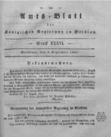 Amts-Blatt der Königlichen Regierung zu Breslau, 1827, Bd. 18, St. 36