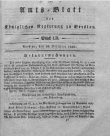 Amts-Blatt der Königlichen Regierung zu Breslau, 1827, Bd. 18, St. 52