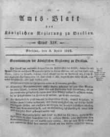 Amts-Blatt der Königlichen Regierung zu Breslau, 1829, Bd. 20, St. 14