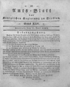 Amts-Blatt der Königlichen Regierung zu Breslau, 1829, Bd. 20, St. 24