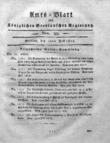 Amts-Blatt der Königlichen Breslauschen Regierung, 1812, Bd. 2, Nro. 30
