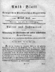 Amts-Blatt der Königlichen Breslauschen Regierung, 1813, Bd. 3, St. 42