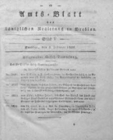 Amts-Blatt der Königlichen Regierung zu Breslau, 1830, Bd. 21, St. 5