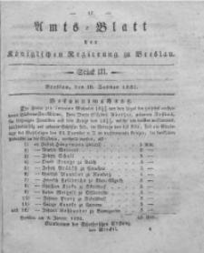 Amts-Blatt der Königlichen Regierung zu Breslau, 1831, Bd. 22, St. 3