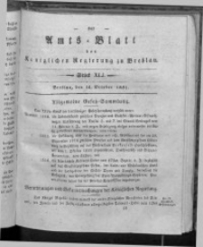 Amts-Blatt der Königlichen Regierung zu Breslau, 1831, Bd. 22, St. 41