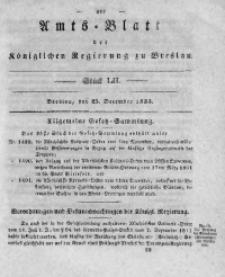 Amts-Blatt der Königlichen Regierung zu Breslau, 1833, Bd. 24, St. 52