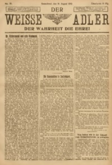 Der Weisse Adler, 1919, No. 32