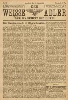 Der Weisse Adler, 1919, No. 34