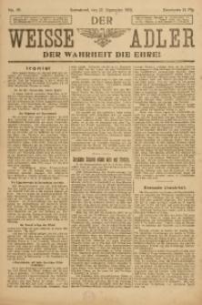 Der Weisse Adler, 1919, No. 40