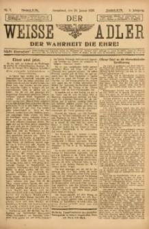 Der Weisse Adler, 1920, Jg. 2, No. 7