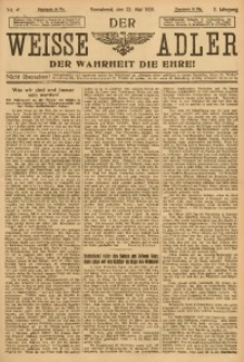Der Weisse Adler, 1920, Jg. 2, No. 41