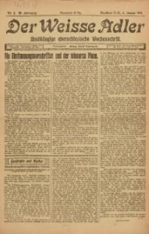Der Weisse Adler, 1921, Jg. 3, Nr. 2