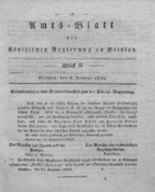 Amts-Blatt der Königlichen Regierung zu Breslau, 1834, Bd. 25, St. 2