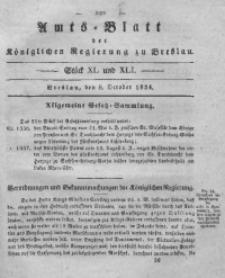 Amts-Blatt der Königlichen Regierung zu Breslau, 1834, Bd. 25, St. 40/41