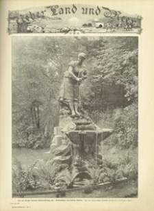 Uber Land und Meer. Deutsche Illustrirte Zeitung. 1897, nr 43