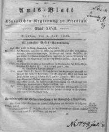 Amts-Blatt der Königlichen Regierung zu Breslau, 1836, Bd. 27, St. 27