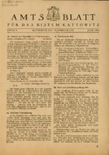 Amts Blatt für das Bistum Kattowitz, 1943, St. 2
