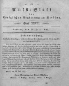 Amts-Blatt der Königlichen Regierung zu Breslau, 1837, Bd. 28, St. 28