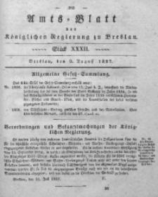 Amts-Blatt der Königlichen Regierung zu Breslau, 1837, Bd. 28, St. 32