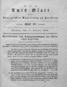 Amts-Blatt der Königlichen Regierung zu Breslau, 1838, Bd. 29, St. 3