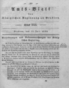 Amts-Blatt der Königlichen Regierung zu Breslau, 1838, Bd. 29, St. 30