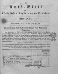 Amts-Blatt der Königlichen Regierung zu Breslau, 1838, Bd. 29, St. 32