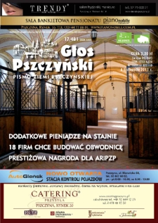 Głos Pszczyński, 2011, R.22, nr17 (481)