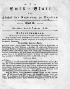Amts-Blatt der Königlichen Regierung zu Breslau, 1839, Bd. 30, St. 2