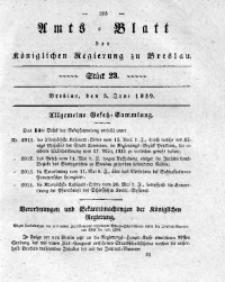 Amts-Blatt der Königlichen Regierung zu Breslau, 1839, Bd. 30, St. 23