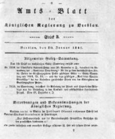 Amts-Blatt der Königlichen Regierung zu Breslau, 1841, Bd. 32, St. 3