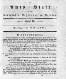 Amts-Blatt der Königlichen Regierung zu Breslau, 1841, Bd. 32, St. 13