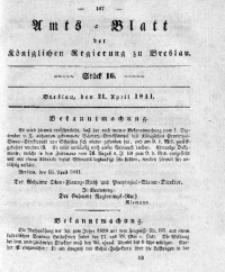 Amts-Blatt der Königlichen Regierung zu Breslau, 1841, Bd. 32, St. 16