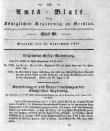 Amts-Blatt der Königlichen Regierung zu Breslau, 1841, Bd. 32, St. 38