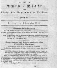 Amts-Blatt der Königlichen Regierung zu Breslau, 1841, Bd. 32, St. 50