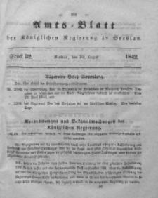 Amts-Blatt der Königlichen Regierung zu Breslau, 1842, Bd. 33, St.32