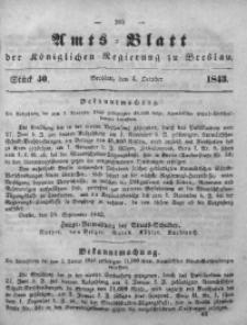 Amts-Blatt der Königlichen Regierung zu Breslau, 1843, Bd. 34, St.40
