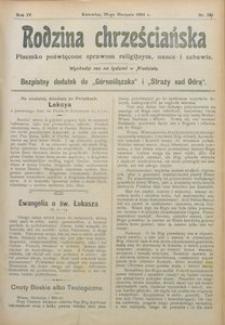 Rodzina Chrześciańska, 1905, R. 4, nr 33 [właśc. 34]