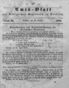 Amts-Blatt der Königlichen Regierung zu Breslau, 1844, Bd. 35, St.35