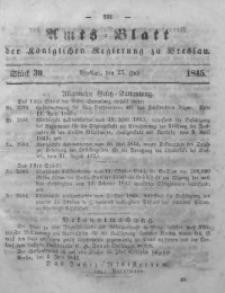 Amts-Blatt der Königlichen Regierung zu Breslau, 1845, Bd. 36, St. 30