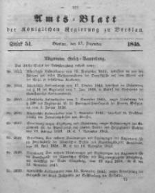 Amts-Blatt der Königlichen Regierung zu Breslau, 1845, Bd. 36, St. 51