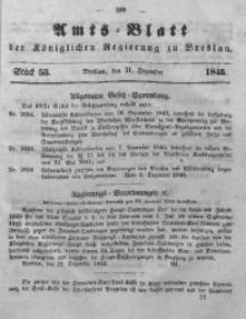 Amts-Blatt der Königlichen Regierung zu Breslau, 1845, Bd. 36, St. 53