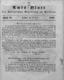 Amts-Blatt der Königlichen Regierung zu Breslau, 1846, Bd. 37, St. 19