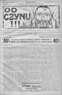 Do Czynu!!! 1931, R. 4, nr 49