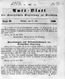 Amts-Blatt der Königlichen Regierung zu Breslau, 1850, Bd. 41, St. 29