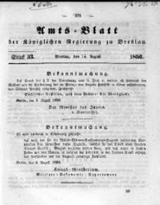 Amts-Blatt der Königlichen Regierung zu Breslau, 1850, Bd. 41, St. 33