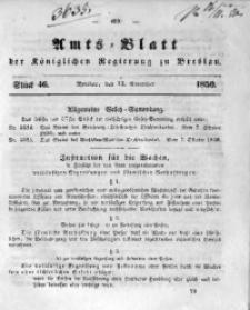 Amts-Blatt der Königlichen Regierung zu Breslau, 1850, Bd. 41, St. 46
